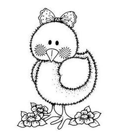 chick colouring page Applique Patterns, Applique Quilts, Embroidery Applique, Embroidery Designs, Easter Coloring Pages, Coloring Book Pages, Coloring Sheets, Sewing Crafts, Sewing Projects