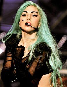 Lady Gaga looks so beautiful here.