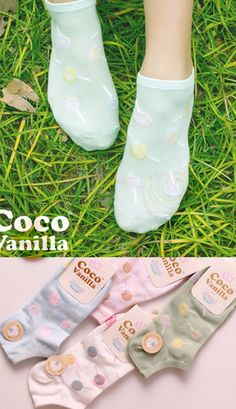 Coco Vanilla kawaii lollipop socks