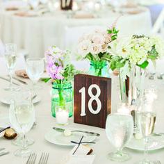 Rustic Wedding Table Numbers