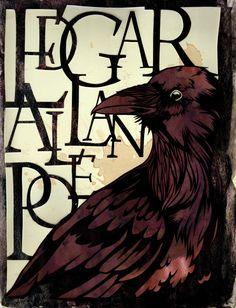 edgar allan poe by ~kazenokibou #art #poe #raven
