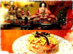 やっぱり不器用 - 31件のもぐもぐ - ちらし寿司ケーキ❓❓ by yumiko