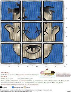 Dr. Seuss Letter U  9 Piece Puzzle