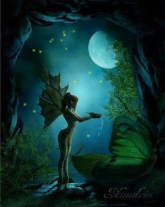 Fairy Photo: This Photo was uploaded by thisbe_hearts_pyramus. Find other Fairy pictures and photos or upload your own with Photobucket free image and v. Elfen Fantasy, 3d Fantasy, Fantasy Kunst, Fantasy Fairies, Enchanted Fairies, Fairy Dust, Fairy Land, Fairy Tales, Magical Creatures