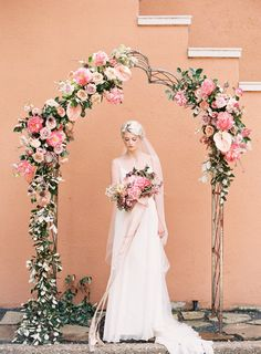 A lovely flower arch! #Swellflowers