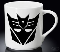 Sell Transformers Decepticon Logo New Hot Mug White Mug