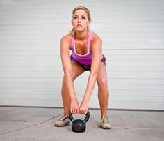 13 Kettlebell Exercises that Firm and Burn  Use these moves to build a kettlebell workout that will tighten and tone your butt, legs, and abs.