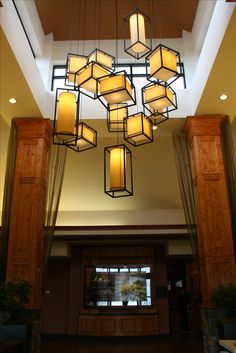 hilton garden inn kalispell montana chandelier - Hilton Garden Inn Kalispell