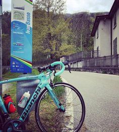 Spring in Europe. My Bianchi getting its teeth stuck into some local Italian climbs. Testing the limits of my @vittoriatires on the switchbacks  @teamcolavita #HoldTheRope @bianchi_usa