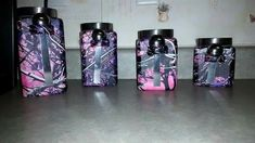 Muddy girl camo kitchen canisters