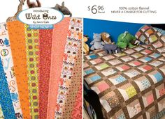A great site for affordable quilting patterns and fabrics.
