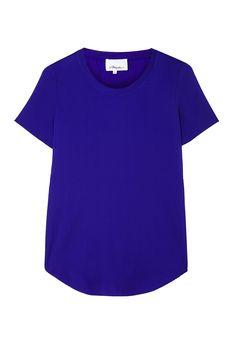 3.1 Phillip Lim | Overlapping Side Seam Silk Shirt