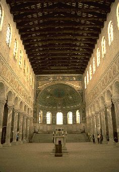 History of Early Christian, Byzantine Architecture : Sant' Apollinale in Classe