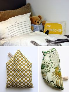 kids rooms with yellow by the style files, via Flickr