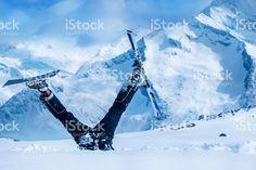 Parfaitement Skieur photo libre de droits