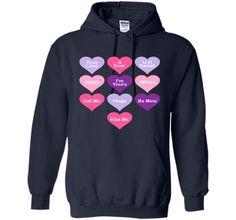 Valentines Day Shirt Love Cute Heart Candy Verse School Kids