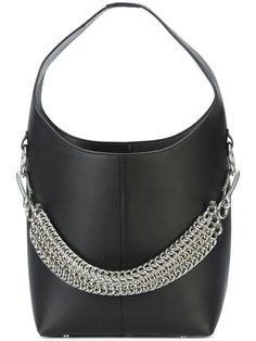 Shop Alexander Wang Genesis Mini Hobo bag Calf Leather 61108b6c51d