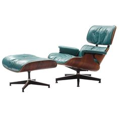 Custom 670 Lounge And Ottoman By Charles And Ray Eames | From a unique collection of antique and modern lounge chairs at http://www.1stdibs.com/furniture/seating/lounge-chairs/