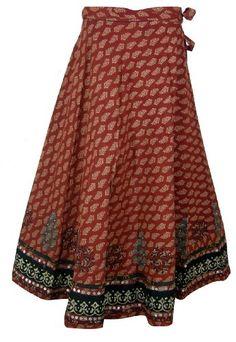 ClothesCraft Designer Wrap Around Long Skirt « Dress Adds Everyday