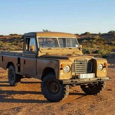 "2,184 Likes, 12 Comments - Land Rover Series Pics (@land_rover_series_pics) on Instagram: ""This is @rambothelandy. A 1984 ex military 109 owned by @theoblignaut. Say hi to Rambo #explore…"""