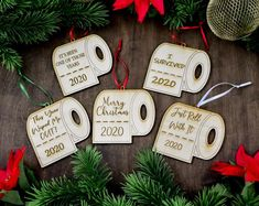 2020 Funny 6 Feet Christmas Quarantined 2020 Christmas | Etsy Baby's 1st Christmas Ornament, Personalized Christmas Ornaments, Felt Christmas, Christmas Decorations, Christmas Ideas, Christmas Yard, Etsy Christmas, Primitive Christmas, Holiday Ornaments
