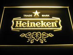 Heineken Logo Beer Bar Pub Store Neon Light Sign Neon
