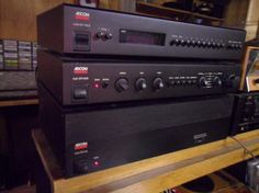 Vintage Adcom Audio System with Power Amplifier Pre Amplifier and tuner,, audiophile quality , stunning sound