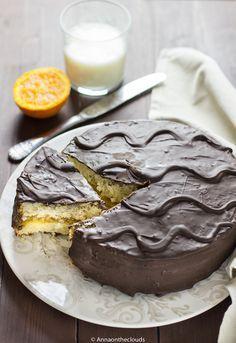 Torta Fiesta ricetta: arancia e cioccolato | Anna On The Clouds