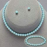 Childrens Girls Jewelry 3pc Blue Pearl Set Bracelet, Necklace & Earrings for Girls. Perfect for Christmas, First Communion, Easter, Graduation, Sunday Dress, Christening or Birthday. ST001 http://www.amazon.com/dp/B00XUO2PXI/ref=cm_sw_r_pi_dp_zTiEvb0XWK9ZP