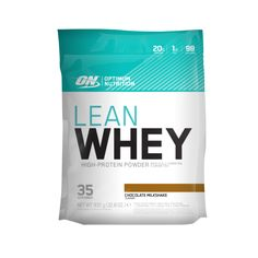 Optimum Nutrition Lean Whey -- I love the use of simple graphics and color on this pouch.
