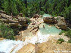 MAGIA SERRANA: LAS CHORRERAS DE ENGUÍDANOS Y VILLORA Spain Travel, Valencia, The Good Place, Places To Go, Explore, Landscape, Water, Outdoor, Natural Pools
