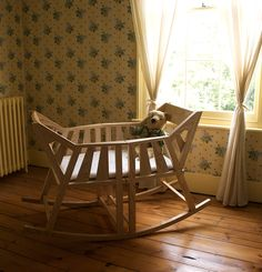 cradle that turns into two small rocking chairs