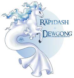 [OTA - CLOSED] Rapidash x Dewgong by Seoxys6 on DeviantArt