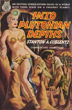 Into Plutonian Depths by Vintage Paperbacks, via Flickr