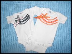 One Busy Mama and Teacher: Jewelry Onesies
