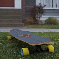 "Landyachtz 40"" Hatchet Longboard Shape"