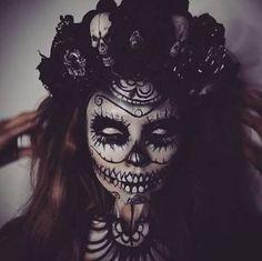 Resultado de imagen para sugar skull makeup