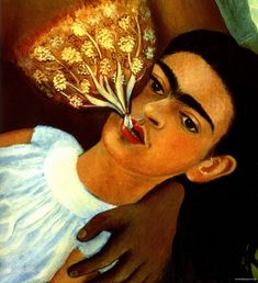 """I don't paint dreams or nightmares, I paint my own reality."" Frida Kahlo."