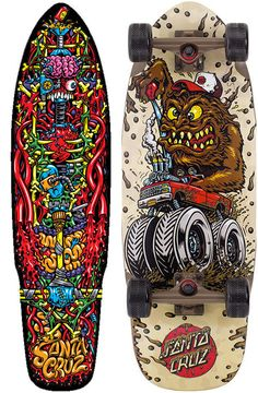 Santa Cruz Skate Art by Jim & Jimbo Phillips -