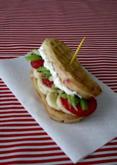 Lunch will quickly become your favorite meal of the day when you make this Sweet Waffle Poboy recipe. Recipe courtesy of Brittany Teekel Bernos.