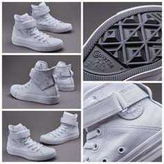 Converse Womens Chuck Taylor All Star Brea Leather - White قیمت:  تومان کد محصول:  استعلام موجودی و ثبت سفارش با کد محصول در تلگرام