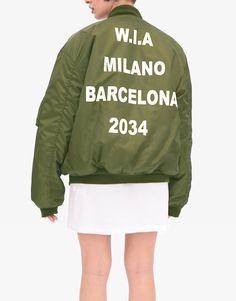 WIA Bomber jacket 2034 green