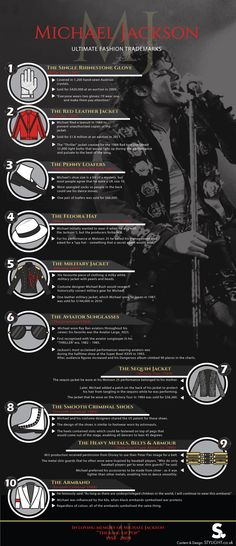 Michael Jackson's Fashion Trademarks by @TTWNYC - THRILL THE WORLD NYC