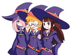 little witch academia by chelostracks wallpaper