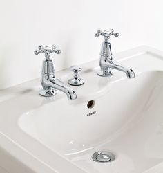 Exclusive to C.P. Hart, Admiral was inspired by a ship's wheel and was the first five-pronged basin tap on the market. #bathrooms #luxurybathrooms #traditionalbathrooms