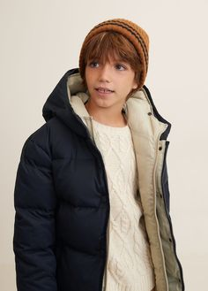 Feather down hooded coat - Boys Fashion Kids, Trendy Outfits, Boy Outfits, Beauty Of Boys, Asian Short Hair, Kid United, Kids Usa, Puffy Jacket, Winter Gear