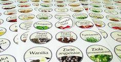Výsledek obrázku pro Etykiety przypraw Spice Jar Labels, Spice Jars, Spices, Tags, Goal, Spice
