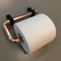 Koper rol houder, wc rol houder, keukenrol houder,, koper, koperen kandelaar, koper kandelaar, koper buis, koper bocht, glans koper, mat koper, 4 kaarsen Industrial Pipe, Towel Rail, Pipes, Toilet Paper, Copper, Buxus, Towel Holder, Bongs, Toilet Paper Rolls
