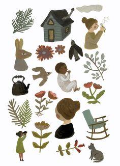 Nurture by Gemma Koomen 50% of the sale of this print will go to Nurture Project International