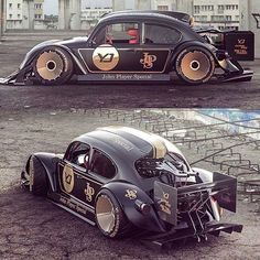 A hot rod is a specific type of automobile that has been modified to produce more power. Weird Cars, Cool Cars, Rwb Porsche, Carros Vw, Shelby Gt 500, Automobile, Kdf Wagen, Vw Cars, Sweet Cars